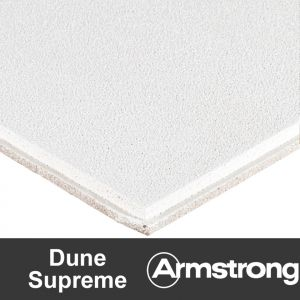 Подвесной потолок Armstrong Dune Supreme (без перфорации) Tegular 15