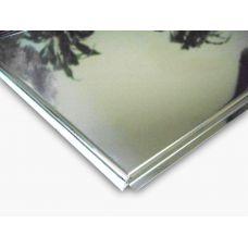 Кассетный потолок алюминиевый АР600A6/45°/Т-24 суперхром-люкс A742