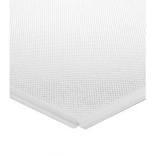 Кассетный потолок алюминиевый АР600A6/45°/Т-24 перфорация белый матовый А903