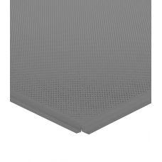 Кассетный потолок алюминиевый АР600A6/45°/Т-24 металлик А907 Эконом перф. F d=1,5
