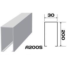 Реечный потолок «Кубообразная рейка» A200S (комплект)