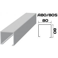 Реечный потолок «Кубообразная рейка» A80/80S (комплект)