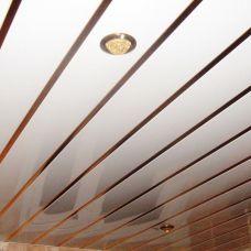 Реечный потолок «Немецкий дизайн. Открытый» (комплект) AN135A белый матовый А903