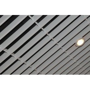 Потолок Грильято «Жалюзи» суперзолото