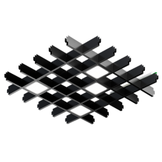 Светильник светодиодный для Грильято PIX-4 16Вт 3200лм 4000К/5000К Белый/Черный