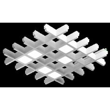 Светильник светодиодный для Грильято ТОЧКА-6 40Вт 4800лм 4000К/5000К Белый/Черный/Металлик